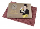 BRILLIANT GOLD POLISHING CLOTH - Laveta curatat aur 12.5x17.5